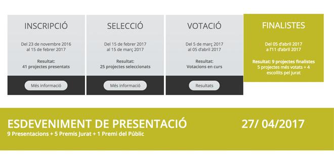 Calendari Concurs Germinador Social