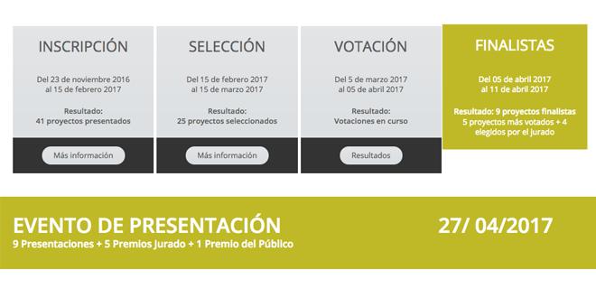 Calendario Concurso Germinador Social